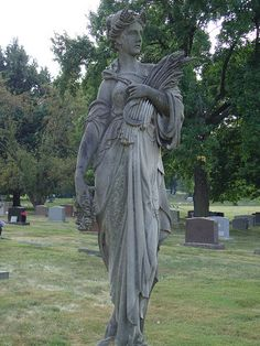 The Goddess Demeter at Crown Hill by Pandora-no-hako on Flickr.