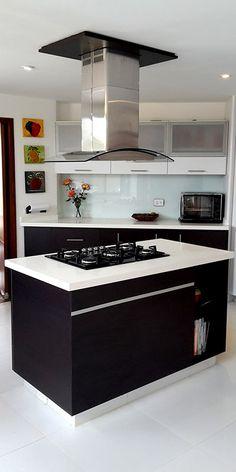 Ver Mesones en Quarztone Diversity, Kitchen Island, Home Decor, Modern Kitchen Cabinets, Interior Design Kitchen, Decorating Kitchen, Kitchen Bars, Entertainment Centers, Kitchens