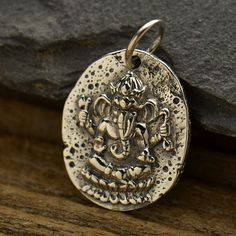 Hey, I found this really awesome Etsy listing at https://www.etsy.com/listing/288174951/sterling-silver-ancient-ganesh-coin