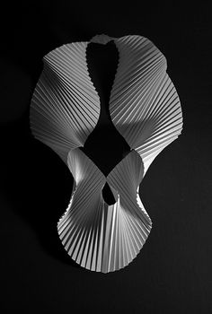 Pleated 90gsm paper. by Richard Sweeney, via Flickr