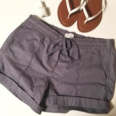 Size 2 light blue Ann Taylor Loft shorts Very cute relaxed Ann Taylor Loft light blue shorts that have been previously loved but do not show visible signs of that LOFT Shorts Cargos