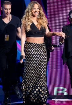 Fabulously Spotted: Mariah Carey Wearing Alexander McQueen - 2013 BET Black Girls Rock - http://www.becauseiamfabulous.com/2013/10/mariah-carey-wearing-alexander-mcqueen-2013-bet-black-girls-rock/