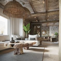 6 Attractive Hacks: Natural Home Decor Modern Ceilings natural home decor earth tones pillow covers.Natural Home Decor Inspiration Coffee Tables natural home decor earth tones.Natural Home Decor Modern Dream Houses. Coastal Living Rooms, Living Room Decor, Tropical Living Rooms, Mediterranean Decor, Natural Home Decor, Natural Homes, Home Decor Inspiration, Decor Ideas, Decor Diy