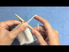 How to get faster at knitting - YouTube