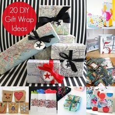 20 DIY gift wrap ideas - find a fun way to wrap ANY gift!