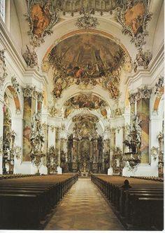 Krämer, Fischer - Klášterní kostel v Ottobauern (spíš už rokoko)