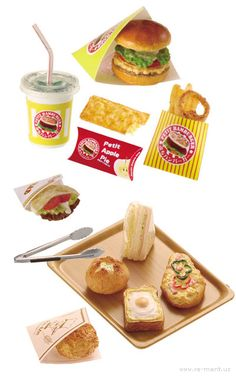Miniature Japanese Food (not edible) sold by Rement