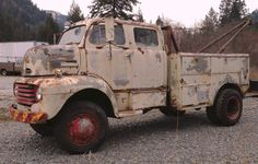 48 Ford F-5 4x4 Wrecker