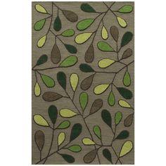 Momeni Saronic Autumn Hand-tufted Wool Area Rug x (Green Rug) Contemporary Area Rugs, Modern Area Rugs, Floral Area Rugs, Blue Area Rugs, Stoff Design, Affordable Rugs, Hand Tufted Rugs, Accent Rugs, Cool Rugs