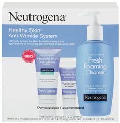 Neutrogena Healthy Skin Anti-Wrinkle System, 8.6 Ounce --- http://www.amazon.com/Neutrogena-Healthy-Anti-Wrinkle-System-Ounce/dp/B004D267VC/ref=sr_1_18/?tag=wwwtaxsalepro-20