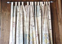 Patchwork Curtain    $89.00