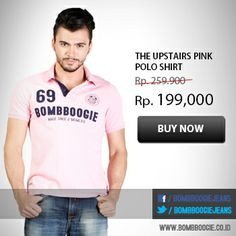 Are you Pinky Boy? get this awesome Polo Shirt only on : www.bombboogie.co.id