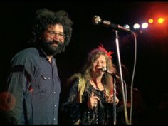 Jerry Garcia and Janis Joplin
