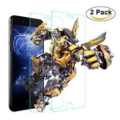 iPhone 6s Plus Screen Protector 2 PACK Amuoc Tempered Glass Screen Protectors for iPhone 6s 6 Plus