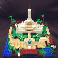 Lego temple! It kept my son (& me) busy and focused during conference.