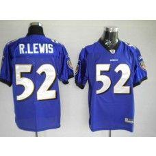 bce43e69f Ravens  52 Ray Lewis Purple Stitched NFL Jersey Nfl Jerseys For Sale