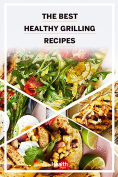 These recipes are easy-to-make and packed with flavor, making them great options for a summer barbecue. Healthy Grilling Recipes, Healthy Summer Recipes, Healthy Eating Recipes, Nutritious Meals, Lunch Recipes, Healthy Dinner Recipes, Beef Recipes, Whole Food Recipes, Healthy Snacks