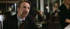"""Alan Rickman as Hans Gruber in """"Die Hard""""  via GIPHY 1988"""