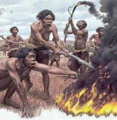 Homo erectus is the earliest hominid known outside of Africa, and was perhaps also the first to use fire.