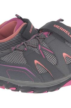 Merrell Kids Trail Chaser (Big Kid) (Multi Suede/Mesh) Girls Shoes - Merrell Kids, Trail Chaser (Big Kid), MY56222-203, Footwear Athletic General, Athletic, Athletic, Footwear, Shoes, Gift - Outfit Ideas And Street Style 2017