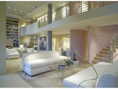 Jane Fonda's penthouse .. Atlanta, GA penthouse living .. You can own it for a mere 1.95 million dollars ..