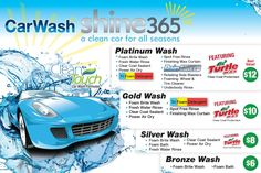 Shine365 Auto Wash of North Kingstown RI: Services