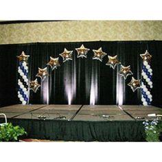 Simple Graduation Stage Decoration
