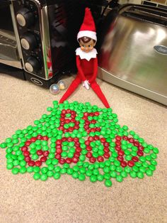 Elf on a Shelf idea... hello first graders at Christmas time!