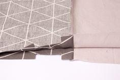 Stoff aufeinander legen Lisa, Safety Pins, Free Sewing, Gymnastics, Artificial Leather, Fabrics, Tutorials