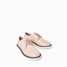 ZARA - NIÑOS - BLUCHER CHAROL Zapatos Blucher 777c4ce40f4
