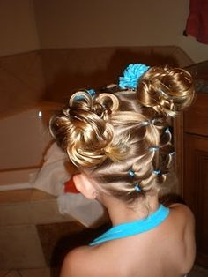 By far the BEST website for doing little girls hair!