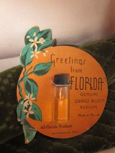 Vintage Orange Blossom Perfume