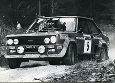 #Fiat #Rally #ralliautot #autot #Finland #Salonen