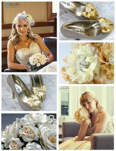 Ivory and cream weddings - Black Pearl Weddings Meets Rosa Loren