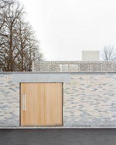 Architekturbüro Garrigues Maurer, Rasmus Norlander · Krematorium Friedhof am Hörnli