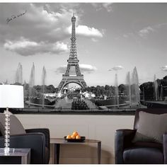 Apartment Decor Without Paint Paris Rooms Mural Wall Art Large Wall Murals Wall