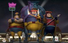 FAT HEROES (X-MEN)