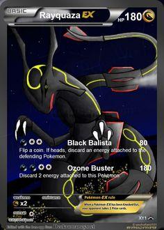 Rayquaza EX Fake Pokemon Card by Arceus8523