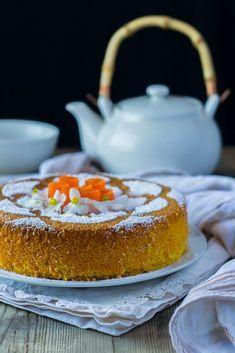 Bizcocho zanahoria con harina almendra Almond Recipes, Gluten Free Recipes, Quiches, Pan Dulce, Healthy Sweets, Sin Gluten, Carrot Cake, Afternoon Tea, Cake Recipes