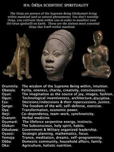 IFA Africa The art work.found by accident in Africa was so detailed and magnificent that it was passed off as a Greek creation and from the lost City of Atlantis Ifa Religion, Yoruba Religion, African Mythology, African Goddess, Egyptian Mythology, Yoruba Orishas, Spiritual Wisdom, Spiritual Symbols, Spiritual Enlightenment