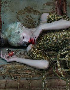 'East of Eden' by Mert Alas and Marcus Piggott,  Alexander McQueen S/S 2013