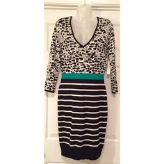 Sweater Dress! Excellent Condition. show off those curves girl! 82% rayon. 15% nylon. 3% spandex. super soft! laundry by design  Dresses