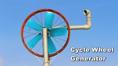 Bicycle wheel Generator Going Off The Grid, Homemade Generator, Alternative Energy Sources, Bicycle Wheel, Wheelbarrow, Homemade Wind Turbine, Diy, Youtube, Ideas
