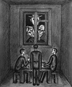 An interpretation of the law system as described by Kafka in his work The Trial.