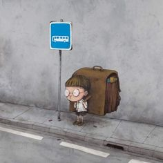 des illustrations cyniques par Bran le Banksy français Dessein de dessin