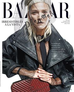 carmen kass by xevi muntane for harper's bazaar spain october 2015