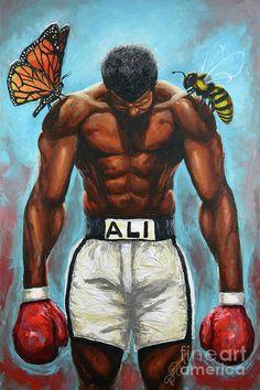 Mohamed Ali, Sport Volleyball, Sport Basketball, Sport Football, Football Field, Dope Cartoon Art, Dope Cartoons, Kick Boxing, Muay Thai