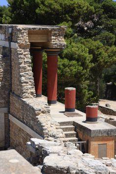 North Entrance, Palace of Knossos, Crete