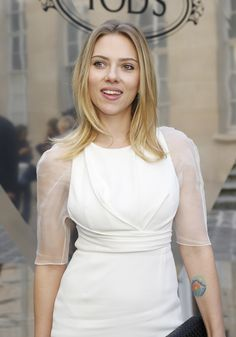 Scarlett Johansson; TOD'S PRESENTS THE NEW TOD'S SIGNATURE S/S 2013 COLLECTION