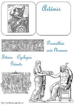 Lapbook des dieux grecs